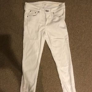 White rag and bone jeans